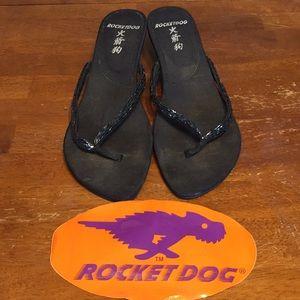 Rocket Dog Kitten Heel Flip Flops